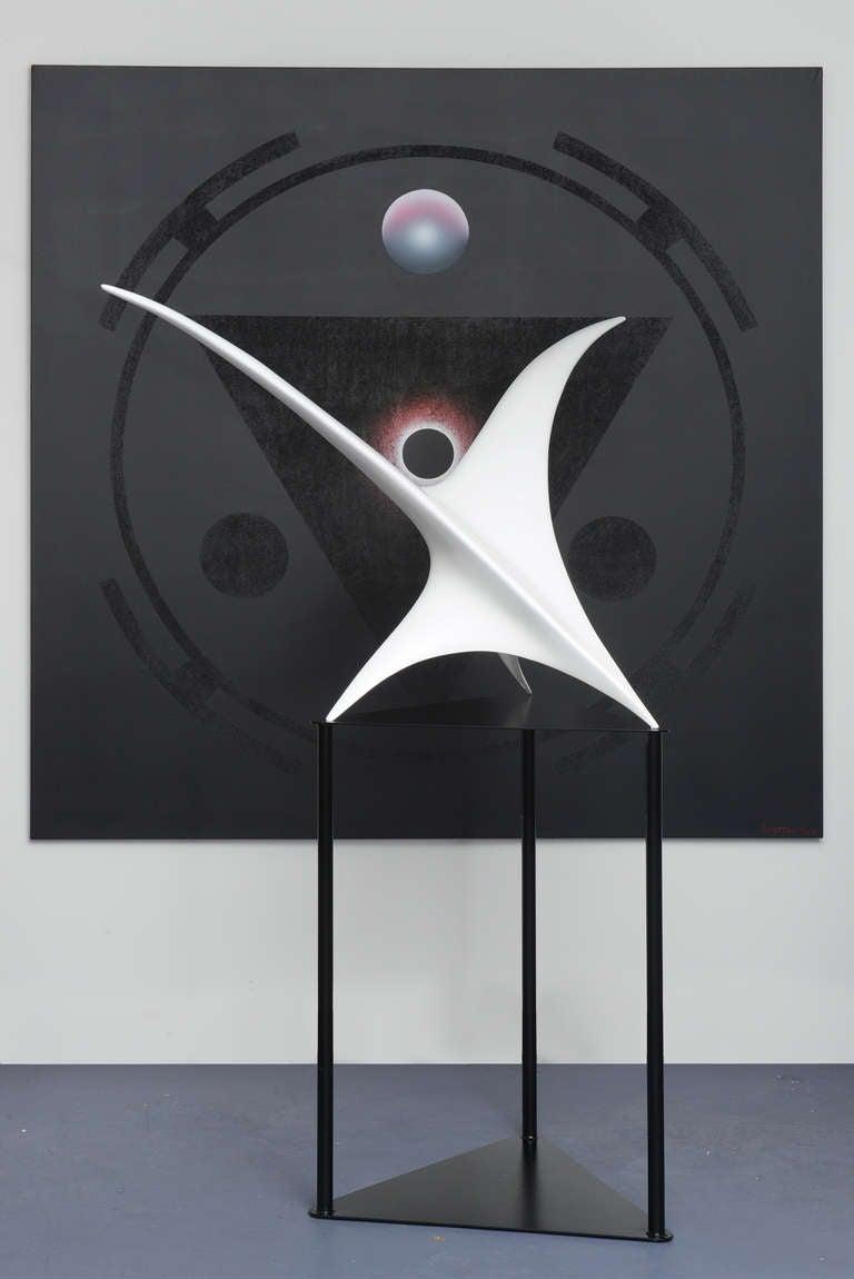 Twin Bird Sculpture For Sale 5