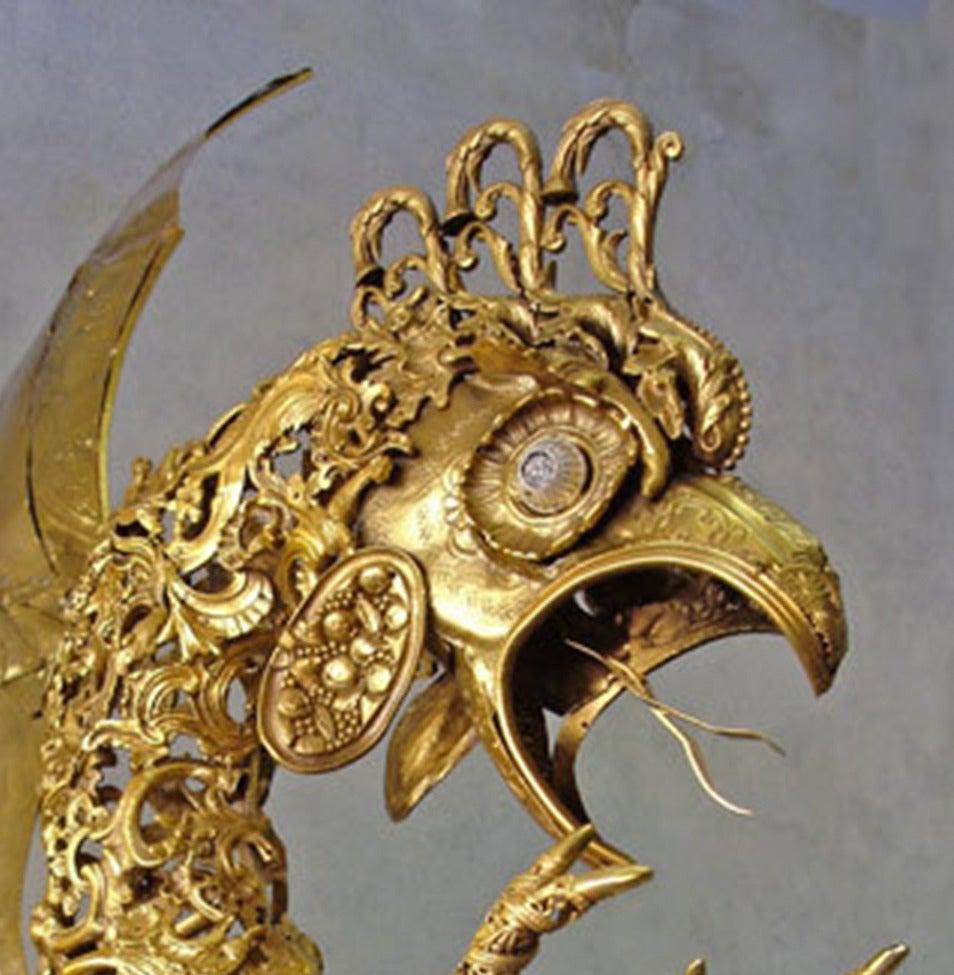 Cocatrix - Bronze Sculpture For Sale 3