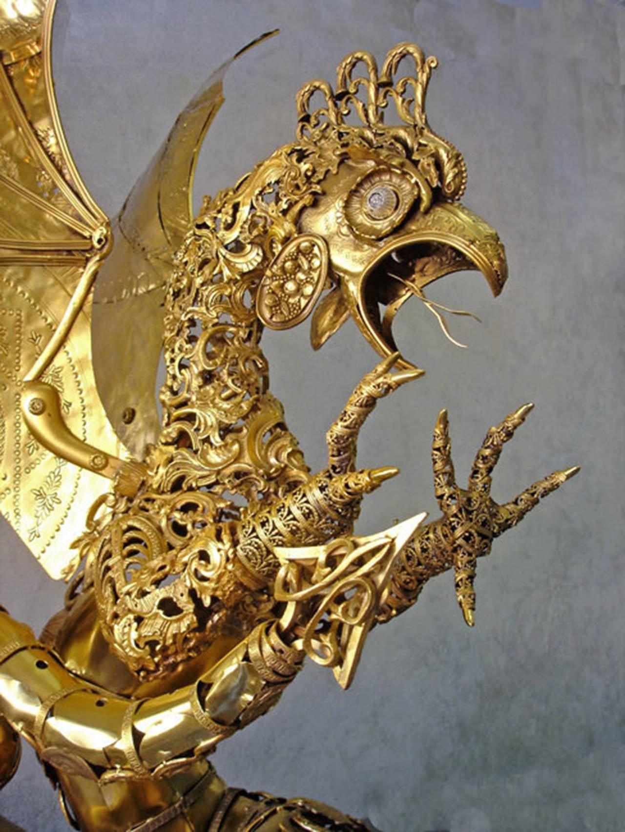 Cocatrix - Bronze Sculpture For Sale 1