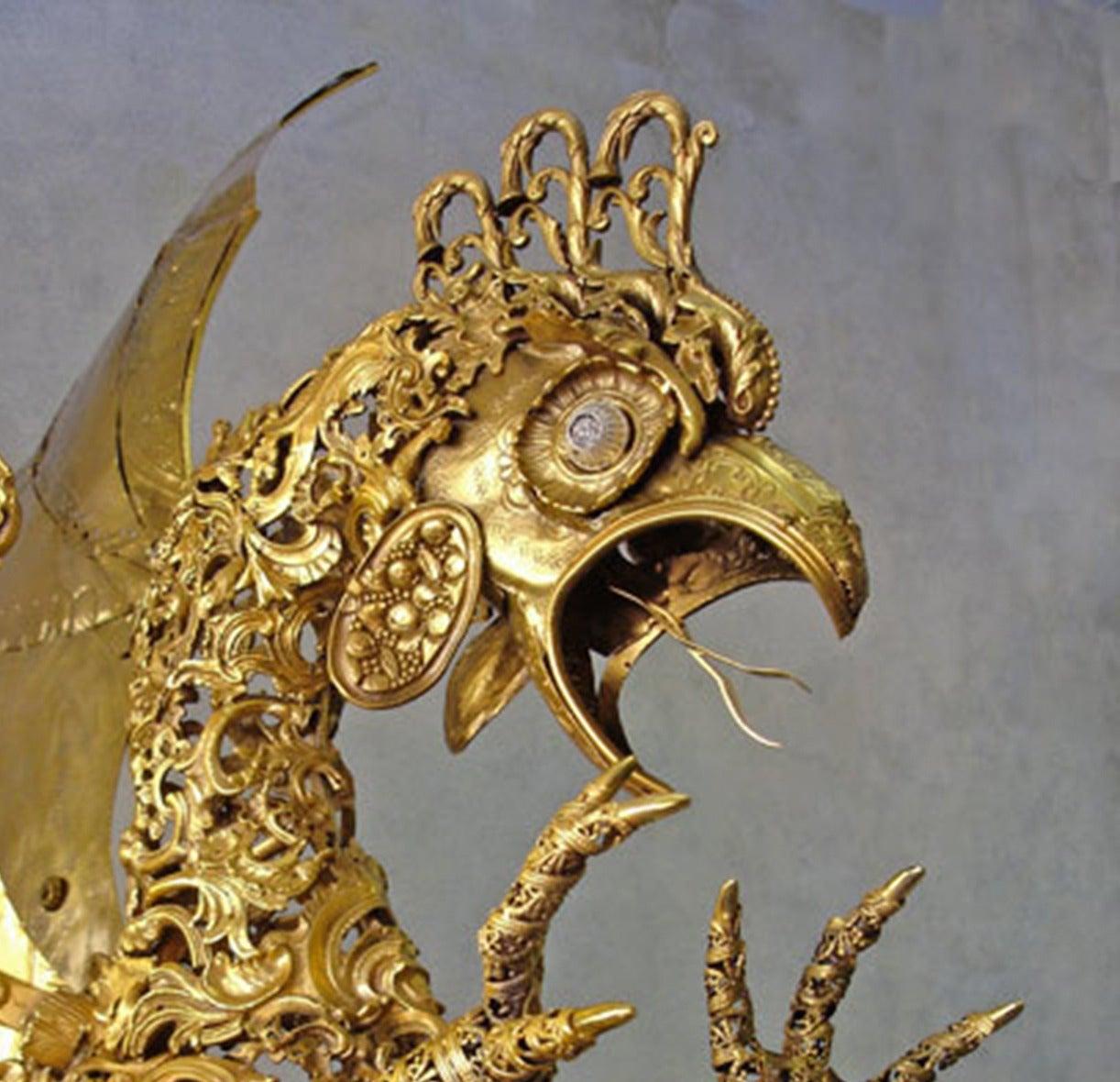 Cocatrix - Bronze Sculpture For Sale 2