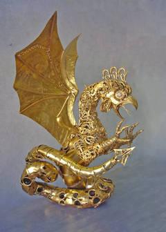 Gold Skulpturen
