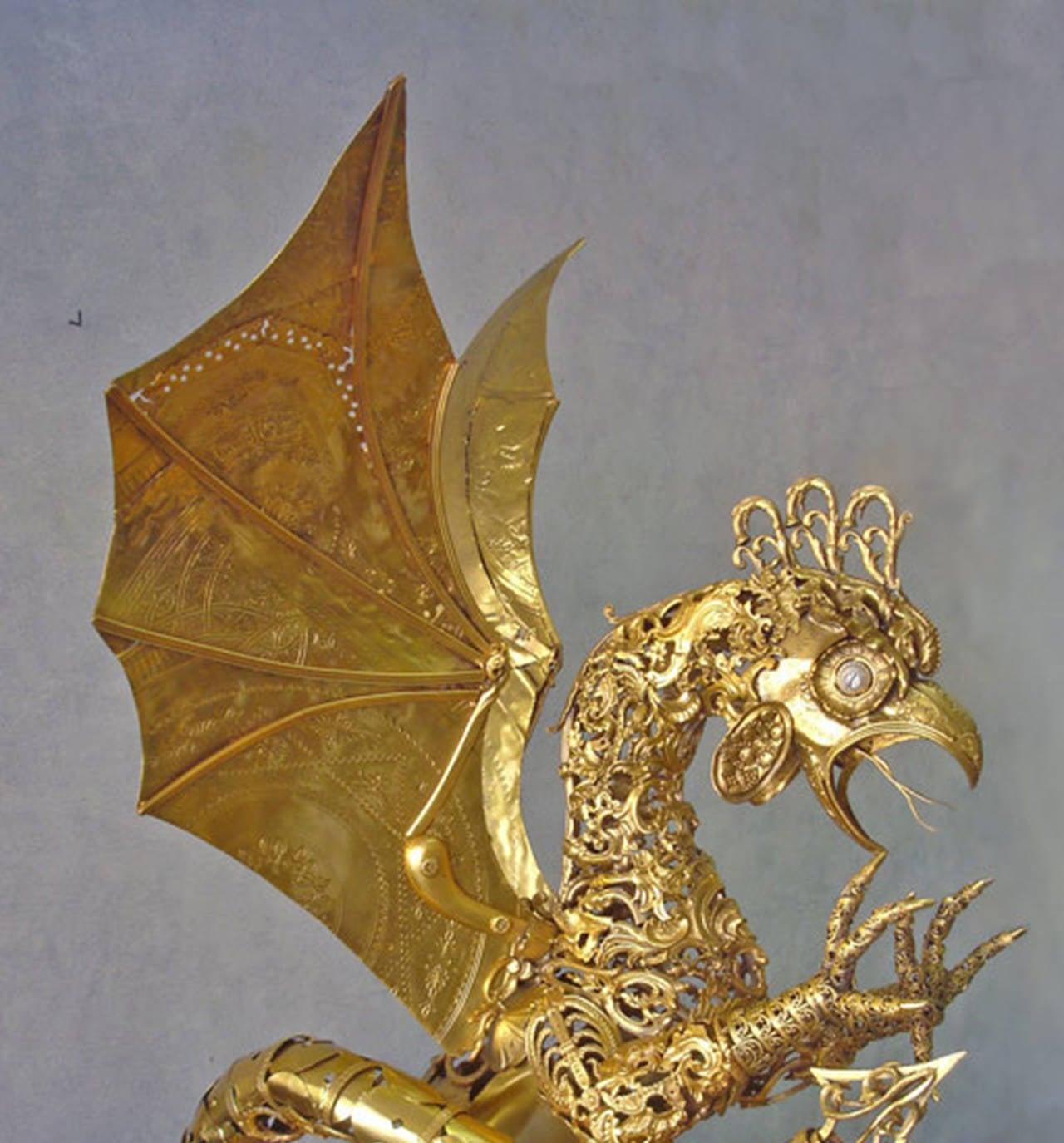 Cocatrix - Bronze Sculpture For Sale 4