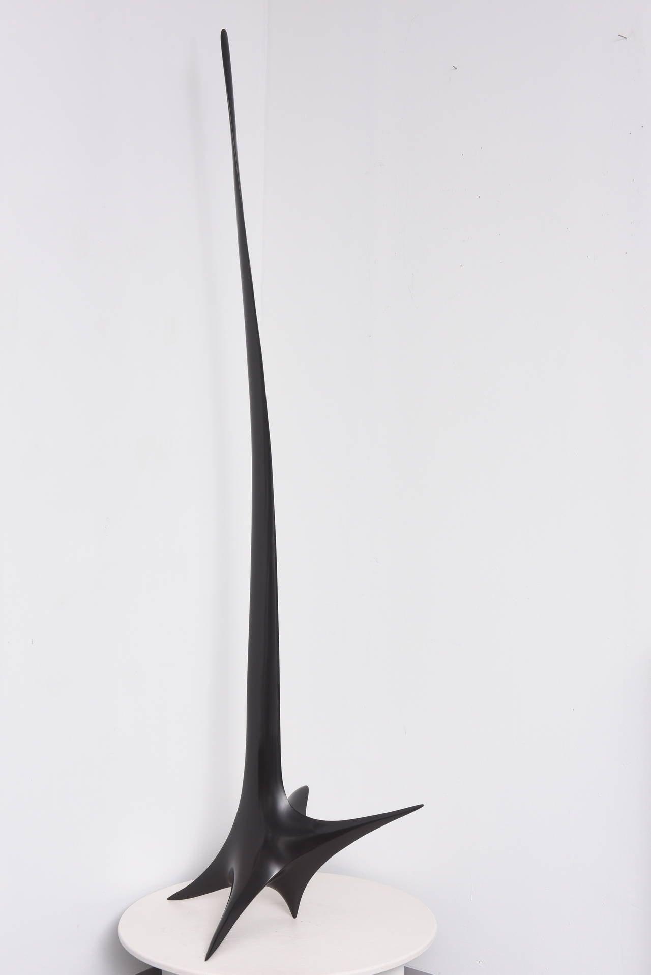 Icare - Gold Figurative Sculpture by Patrice Breteau