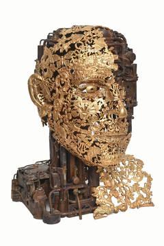 Numero 1 - Bronze ornaments sculpture