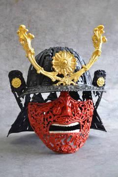 Baroque Samurai - Bronze Sculpture