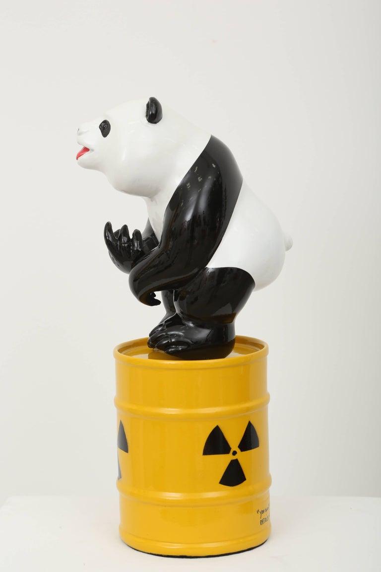 Patrick Schumacher Figurative Sculpture - Fuck Panda