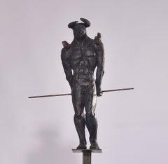 Minotaur (pair of sculptures available)