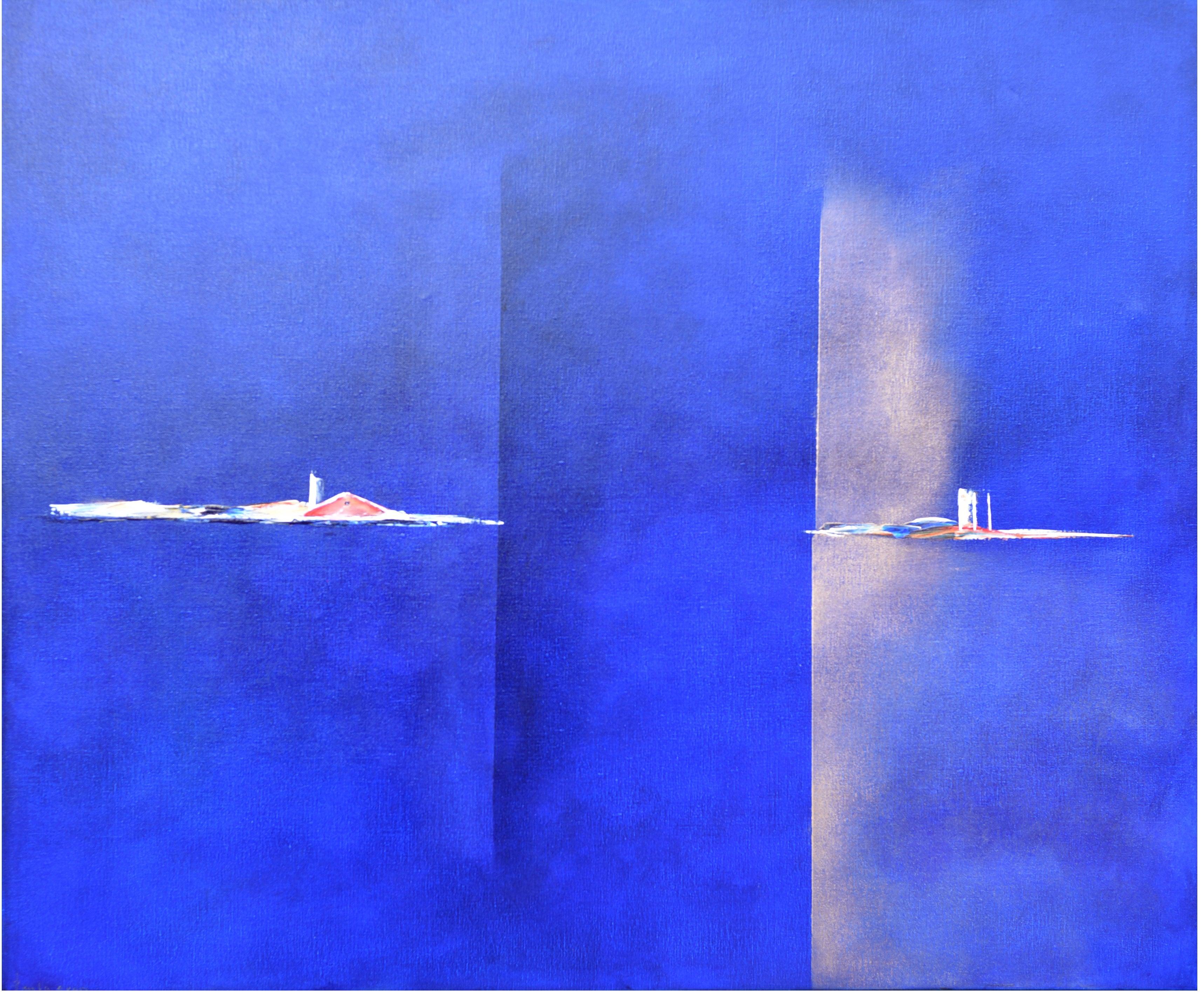 Dutch Landscape Blue