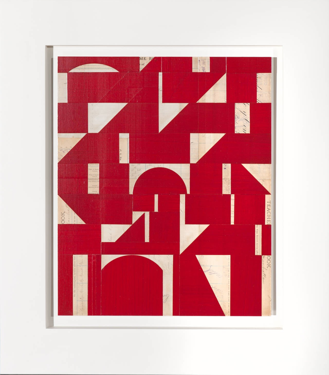 Invisible Cities XXII (red)