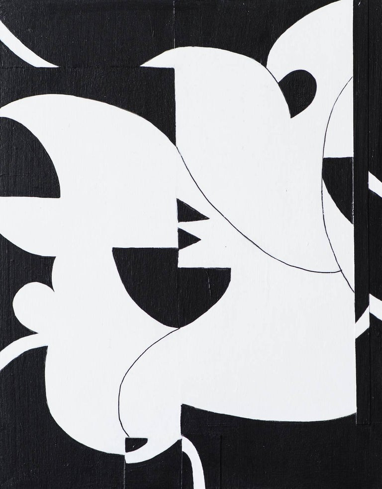 Judith Foosaner Abstract Painting - Garden Party #8
