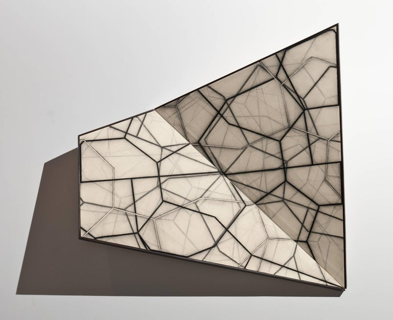 Mark Pomilio Abstract Sculpture - Bi-Fold IX