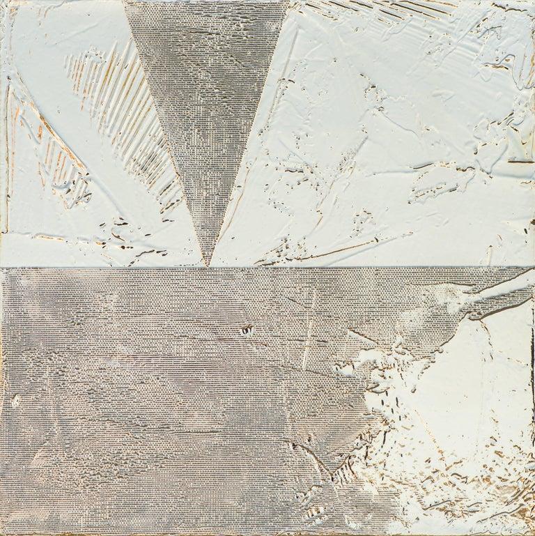 Jimi Gleason Abstract Painting - Silver Kine