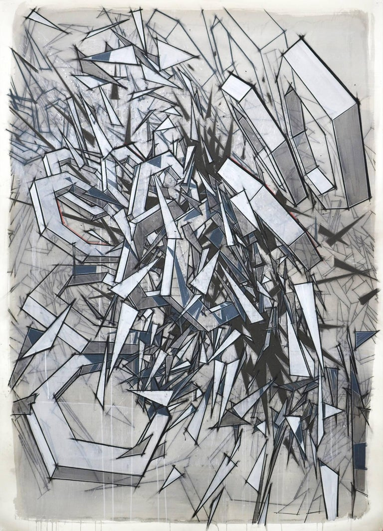 Travis Rice Abstract Drawing - Complication