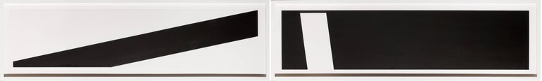 George Thiewes Abstract Drawing - Untitled 1 (diptych)