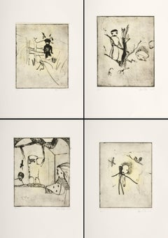 Untitled Etching / Suite of 4
