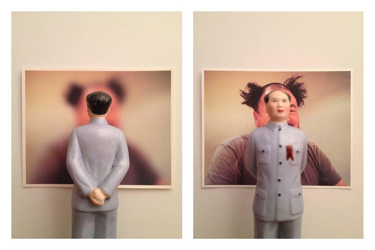 Dominique Blain Color Photograph - Mao-Wei Wei