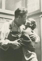 Frida and Diego Kissing