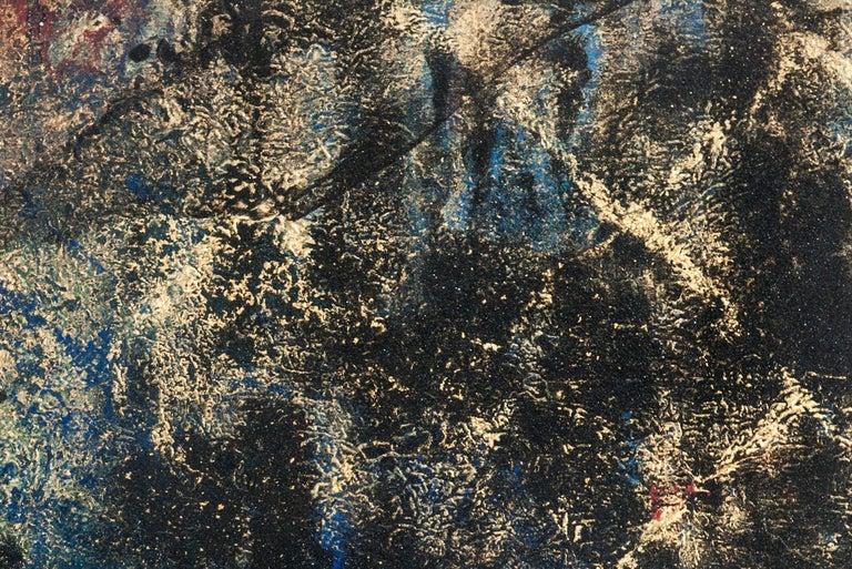 Uroko - Black Abstract Painting by Makoto Fujimura