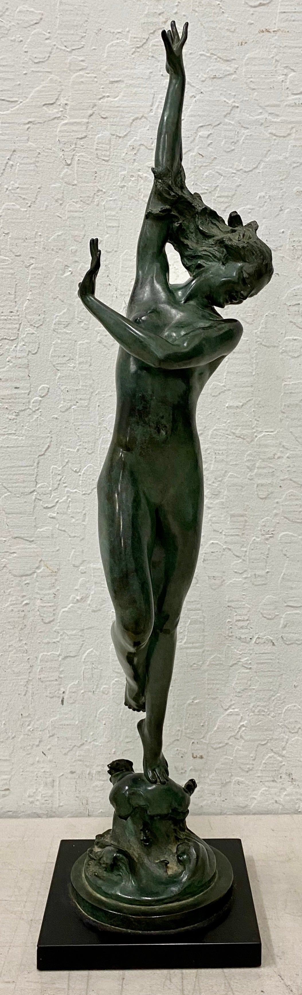 Pierre Chenet - Pair of Nude Women Statues at 1stDibs