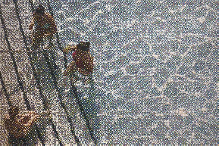 William Betts - Untitled Swimming Pool XIX 1