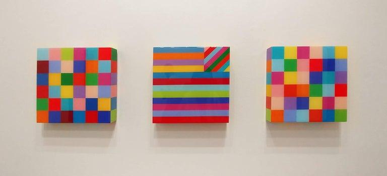 Born This Way - Minimalist Painting by Heidi Spector