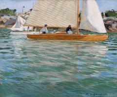 Raoul du Gardier - Sailing Regatta at Pornic