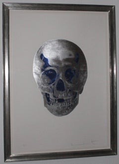 Damien Hirst - The Dead, Foil block print in colours