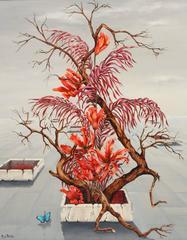Surrealist Flowering Tree