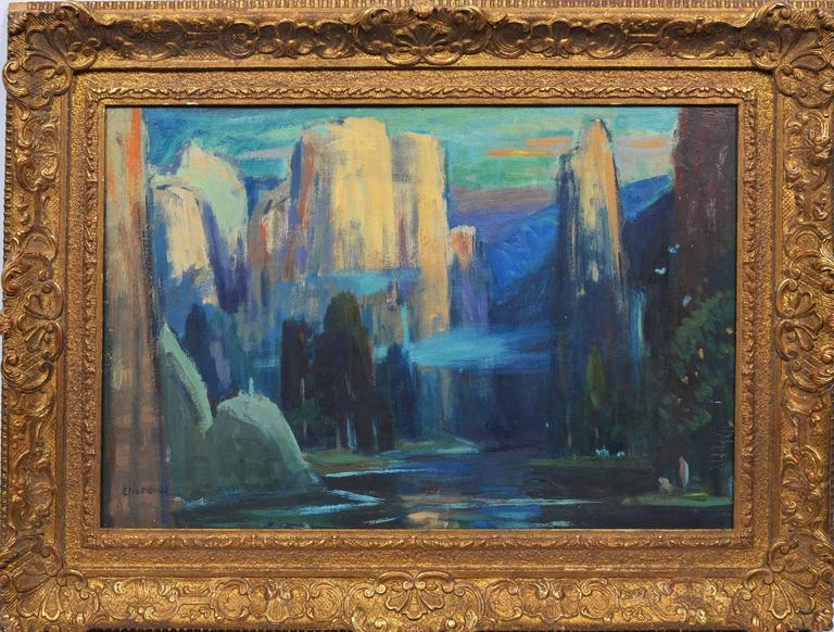 Eliot Clark Landscape Painting - In the Canyons