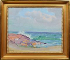 View of a Beach, by Albert Sway