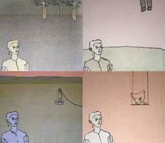 Jackie Felix - Four Monotypes