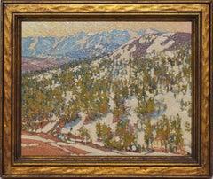 Winter Landscape in the Sonora Pass, California