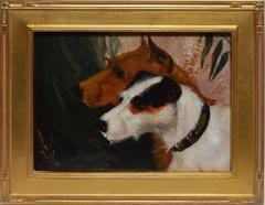 American School Dog Portrait