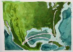 Watercolor Illustration of my Migration to the Northeast