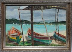Martinique Beach Scene