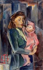 Mother and Child in the City