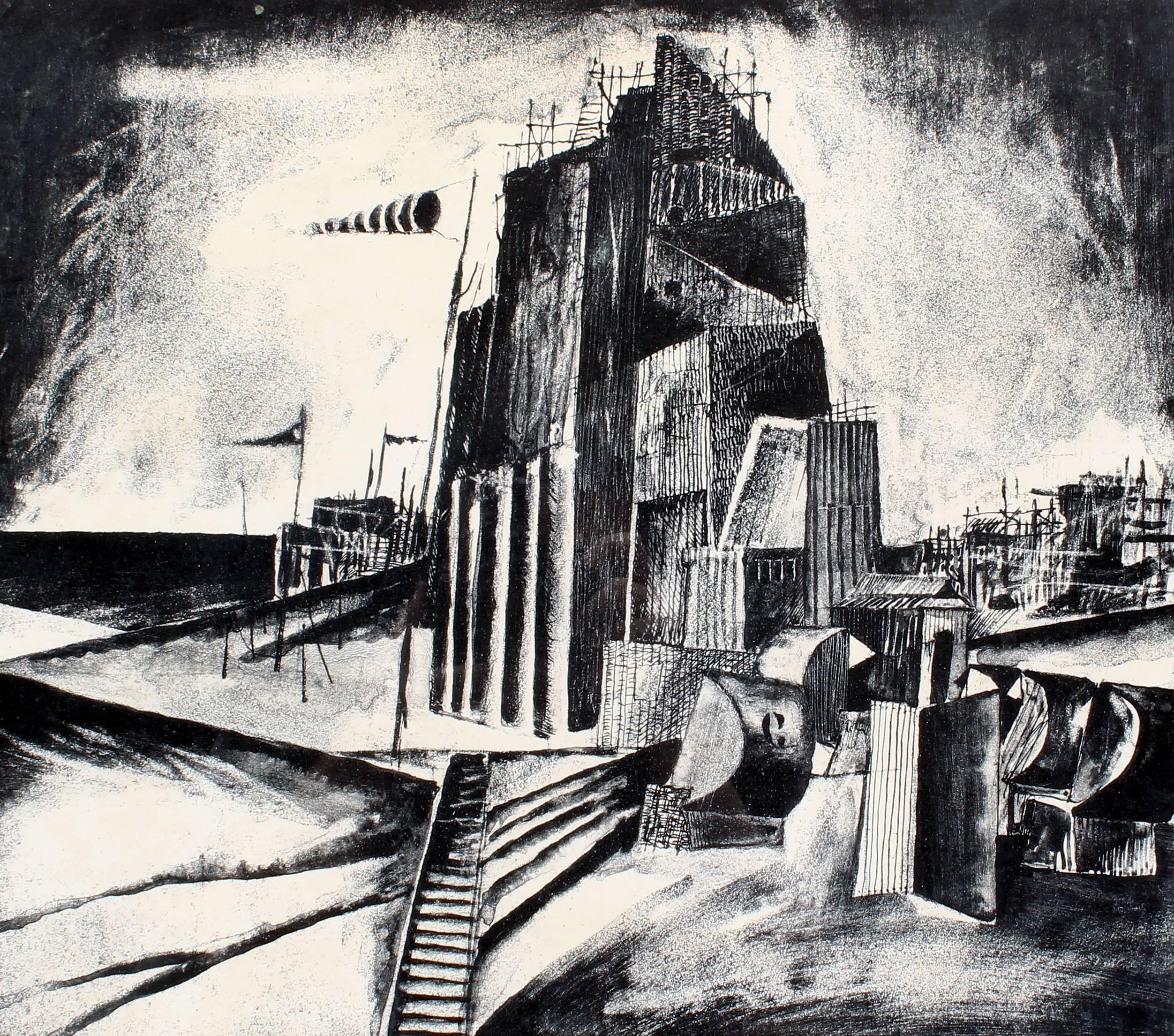 Modern American Industrial Landscape