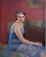 American School Portrait of a Woman