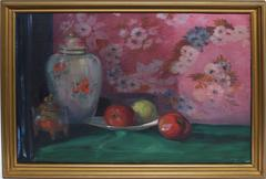Impressionist Fruit Still Life with Apples