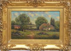 Lavender Landscape by Goerge W Drew