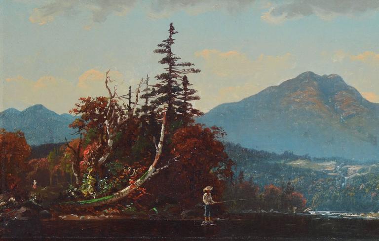 Fall Landscape by John J Enneking For Sale 1