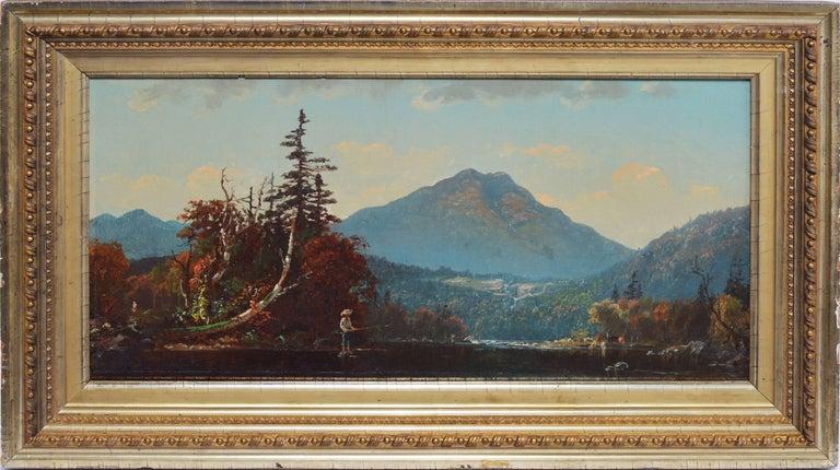 John Joseph Enneking Landscape Painting - Fall Landscape by John J Enneking