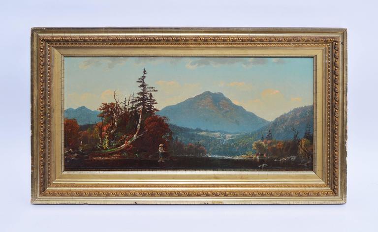 Fall Landscape by John J Enneking - Painting by John Joseph Enneking
