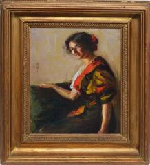 Portrait of a Spanish Woman by Marian Parkhurst Sloane