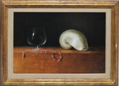 Trompe L'oeil Still Life with Beach Shells