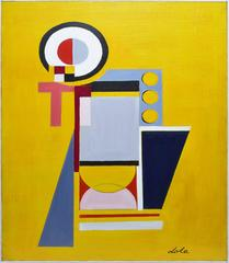 Geometric Abstraction in Yellow