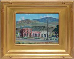 View of Washoe City, Nevada by Arthur Meltzer