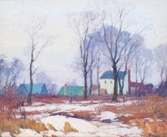 Long Island Countryside in Winter