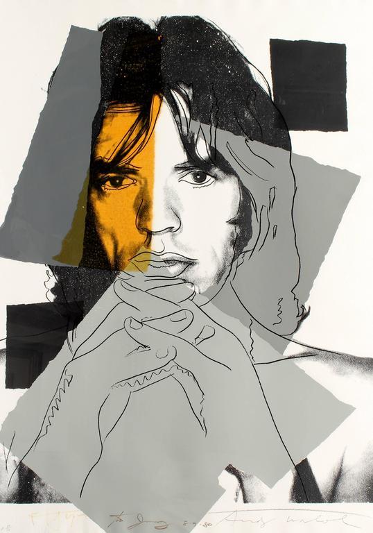 Andy Warhol - Mick Jagger 147 1