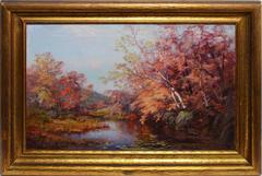 Fall River Landscape by Olive Parker Black